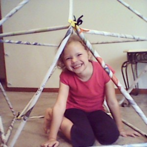 Building a geodesic dome