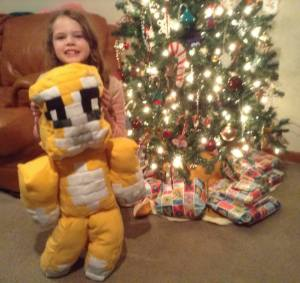 mam-made Stampycat doll